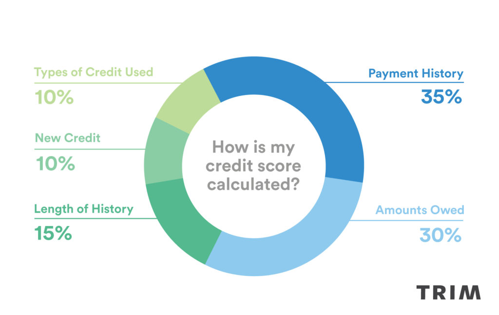My Credit Score >> What Is A Credit Score And How Is It Calculated Trim Bytes
